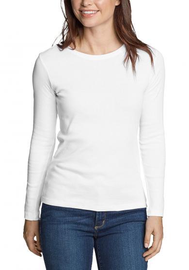 Favorite Shirt - Langarm mit Rundhalsausschnitt Damen