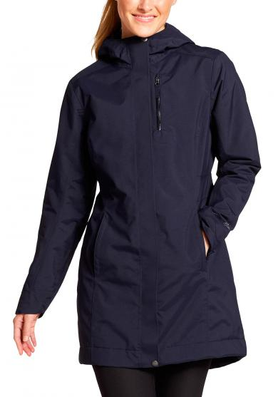 EASTSIDE INSULATED TRENCHCOAT