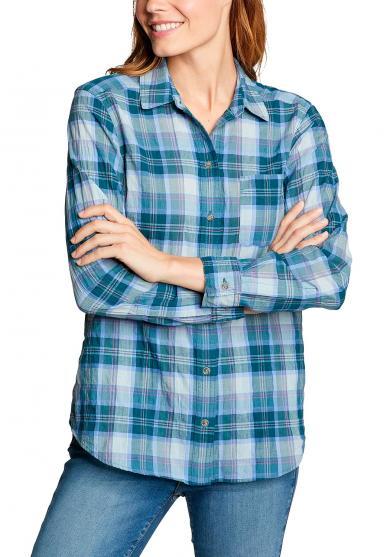 Packbare Bluse Langarm - Boyfriend