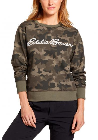 Camp Fleece Logo Sweatshirt Damen