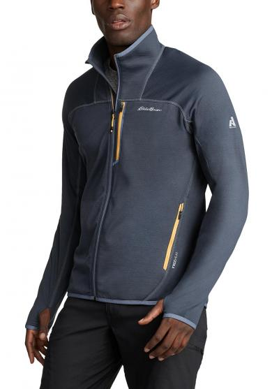 HIGH ROUTE GRID FLEECEJACKE Herren