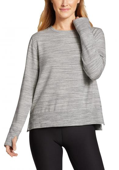 ENLIVEN SWEATSHIRT - MELIERT Damen