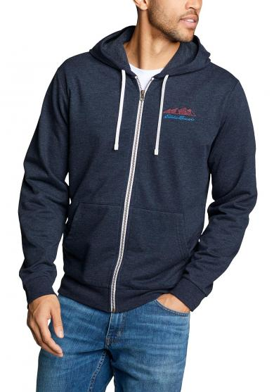 Camp Fleece Sweatjacke - Bedruckt