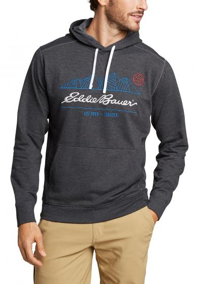CAMP FLEECE SWEATSHIRT MIT KAPUZE