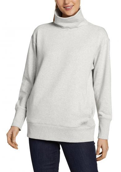 Camp Fleece Sweatshirt mit Rollkragen