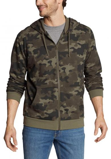 Camp Fleece Sweatjacke - Bedruckt Herren
