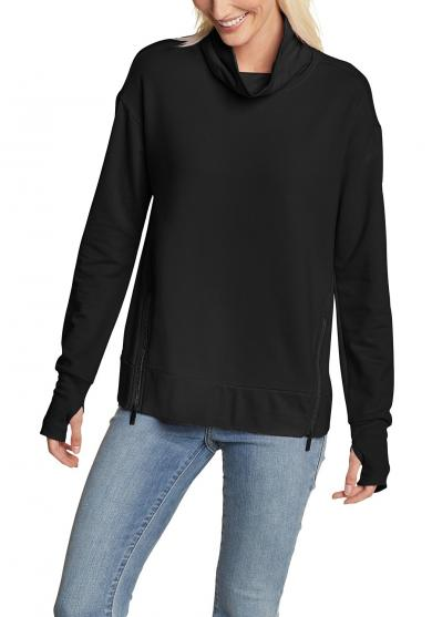 Everyday Enliven Sweatshirt mit Rollkragen Damen