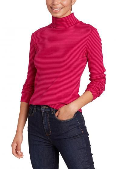 Favorite Shirt mit Rollkragen – gestreift Damen