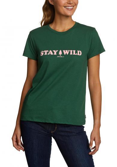 T-Shirt - Stay Wild Damen