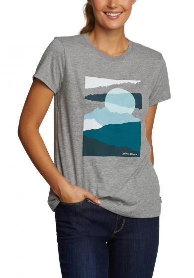 T-Shirt - Mountain Range Damen