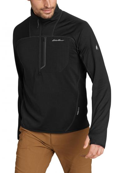 High Route Grid Fleeceshirt Herren