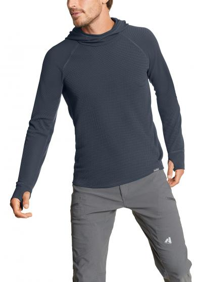 Thermal Tech Shirt mit Kapuze Herren
