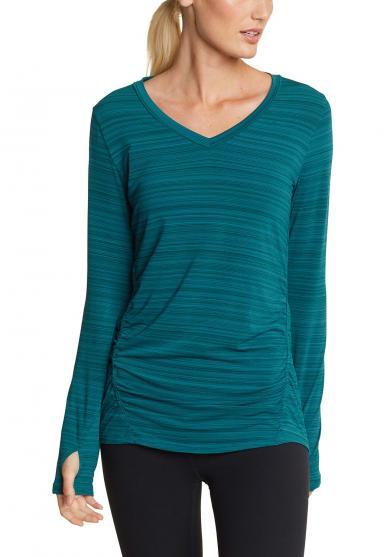 Trail Light Shirt - geringelt Damen