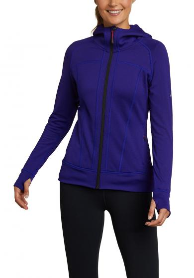 High Route Grid Fleecejacke Damen
