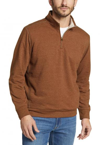 Camp Fleece Troyer mit Sherpafutter Herren