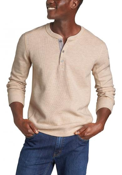 Eddie's Favorite Thermal Henley Herren