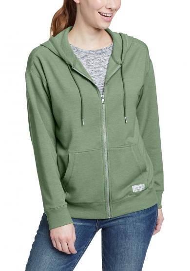 Cozy Camp Fleece Kapuzenjacke Damen