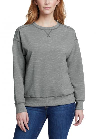 Cozy Camp Sweatshirt - bedruckt Damen