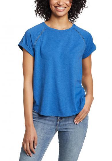 Myriad T-Shirt - mit Lochstickerei Damen