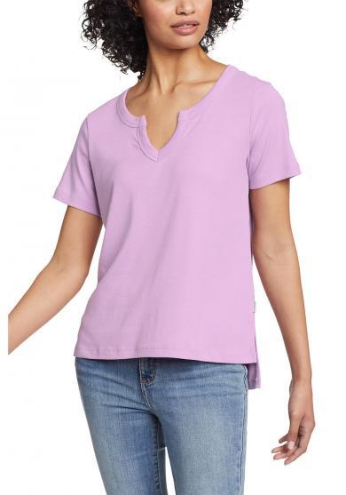 Favorite T-Shirt mit Y-Ausschnitt Damen