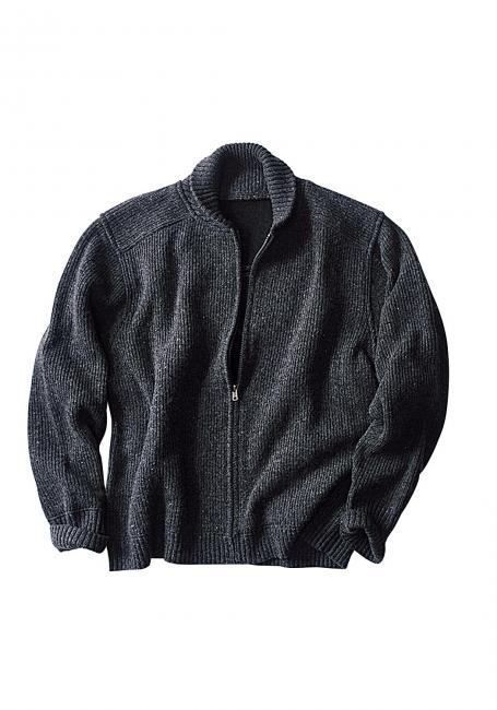 Cardigan mit Wolle