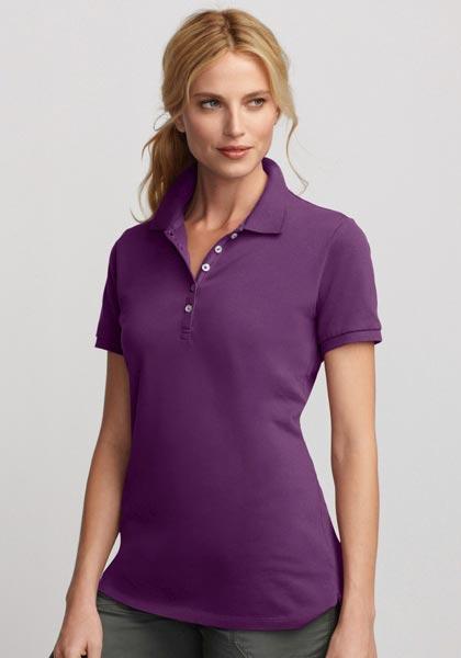 Poloshirt mit Kurzarm Uni