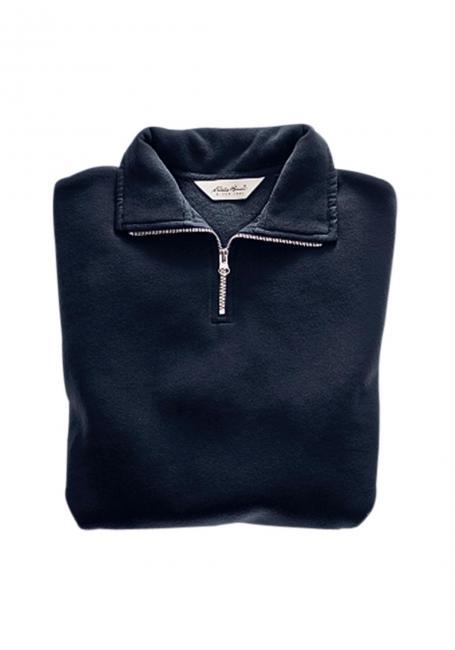 Sweatshirt mit kurzem Reißverschluss