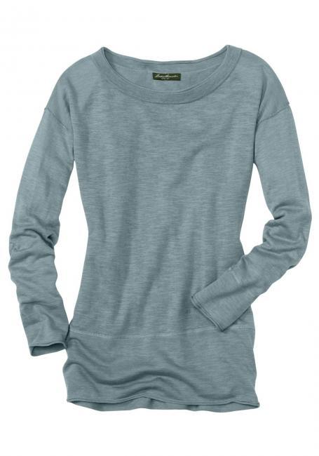 Pullover in Slub-Qualität