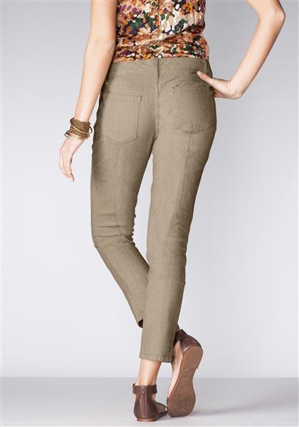 Slim Leg 7/8-Jeans