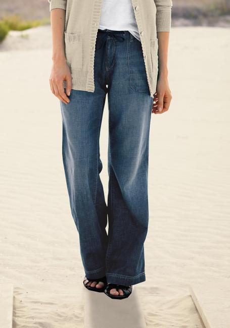 Curvy-U, Trouser Leg Jeans