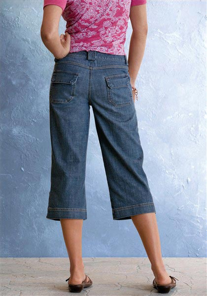 Jeans-Capri