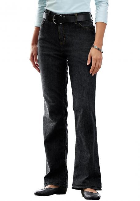 Bootcut Jeans mit Stretch