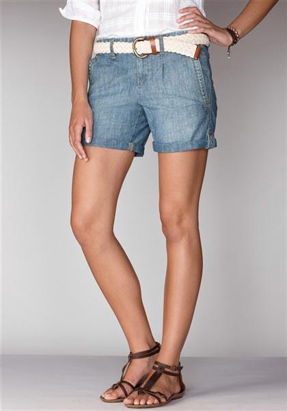Curvy-T, Jeansshorts