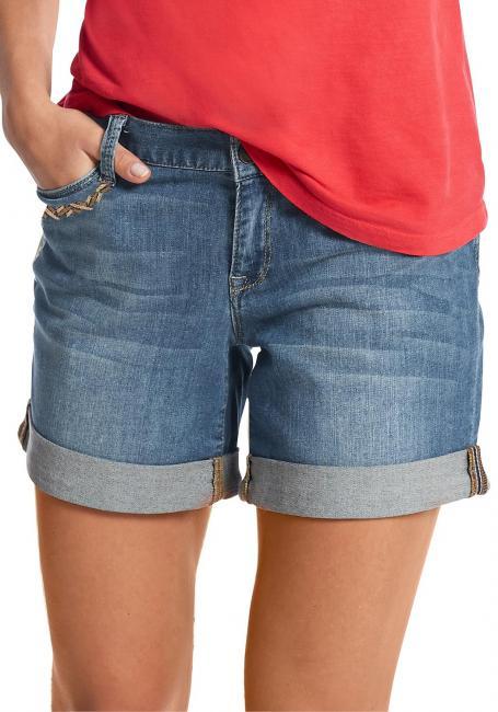 Boyfriend Shorts bestickt