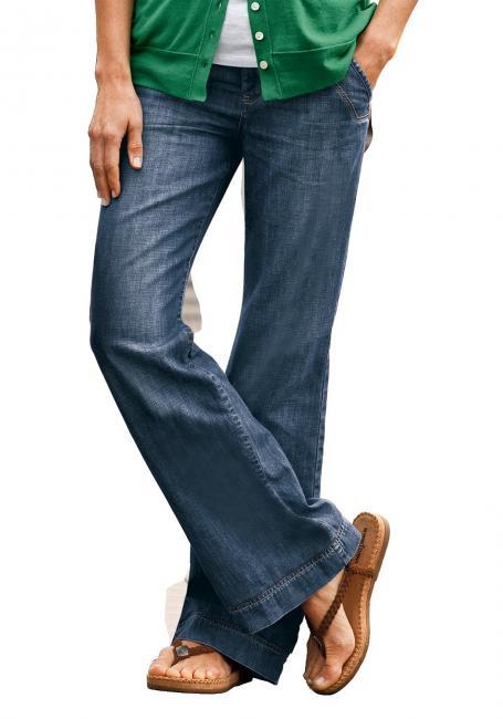 Trouser Leg Jeans