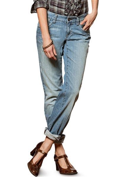 Boyfriend-H, V Leg Jeans