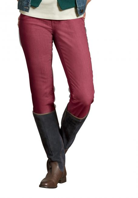 Slim Leg Jeans mit Quernaht