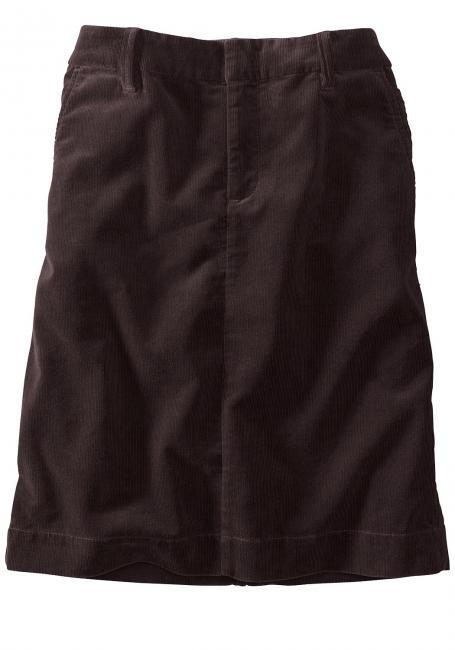 Cordrock mit Eingrifftaschen