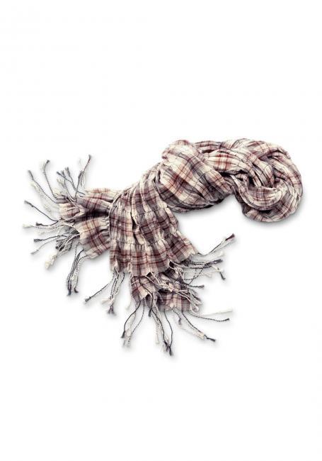 Schal mit Crinkle-Effekt