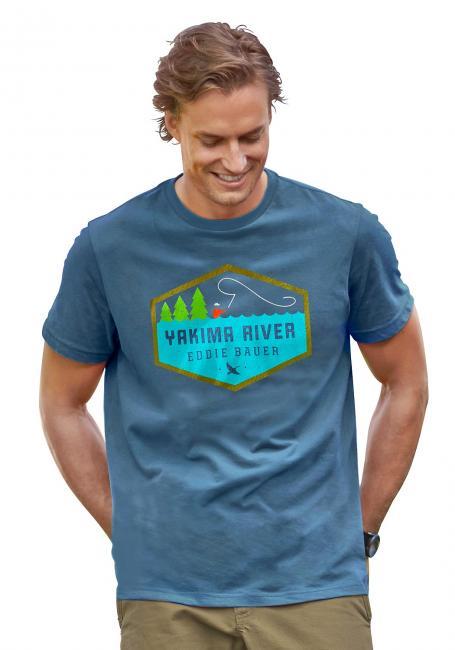 T-Shirt mit Anglermotiv