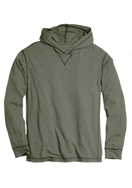 Leichtes Kapuzensweatshirt