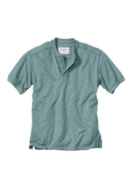 Slub-Henleyshirt