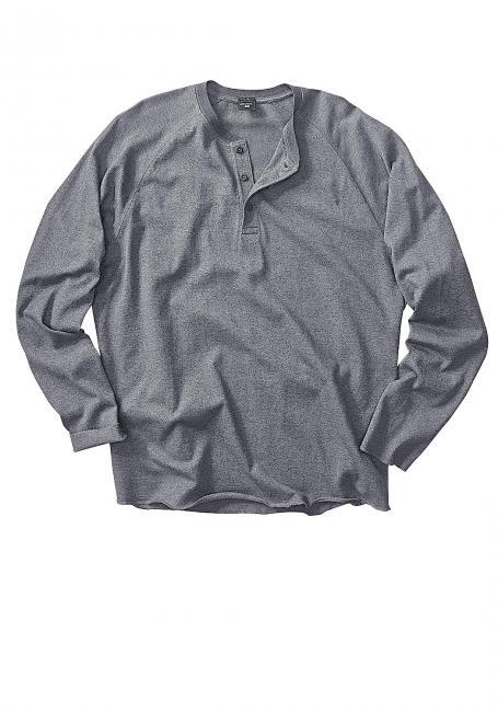 Henleyshirt mit Raglanärmeln