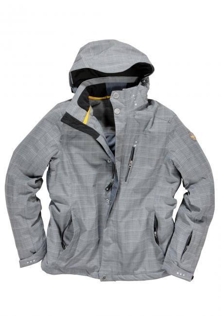 Outdoorjacke kariert