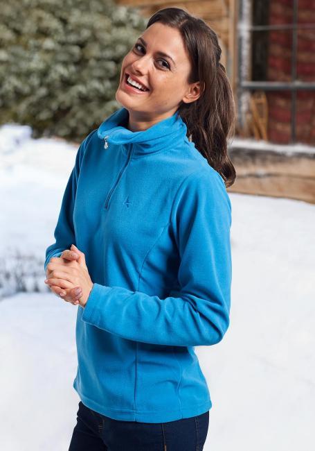 Damen-Microfleece-Pullover