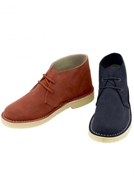 Veloursleder-Schuh