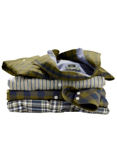 Flanellhemd gemustert