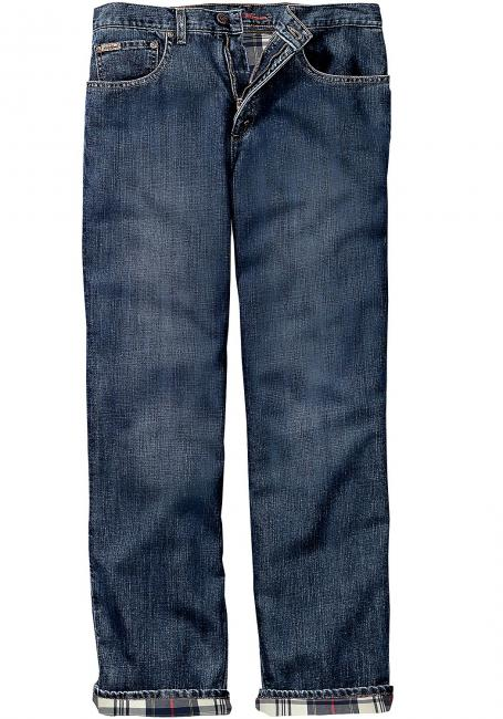 Gefütterte Relaxed Fit Jeans