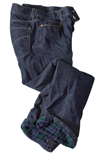 Bootcut Flanelljeans