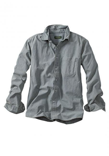 Oxfordhemd mit Brusttasche
